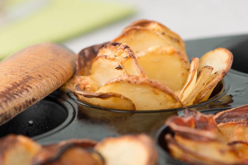 Potatisrosor med paprika