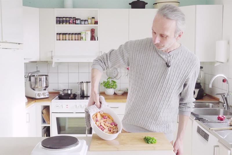 parmesangratinerade morötter